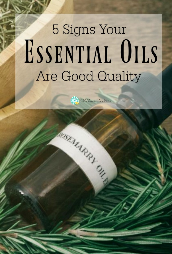 5 Signs Your Essential Oils Are Good Quality. Use this guide from a certified aromatherapist to find 100% therapeutic essential oils. The first post in a series of essential oils for beginners. #essentialoils101 #essentialoilsforbeginners #essentialoils #aromatherapy