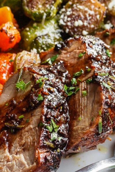 What's For Dinner: Balsamic Pork and Vegetables
