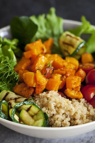 What's For Dinner: Chicken Veggie Buddha Bowls