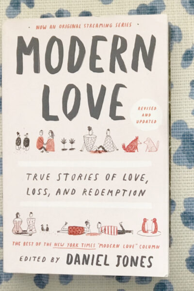 Modern Love Book Review and March Book Pick