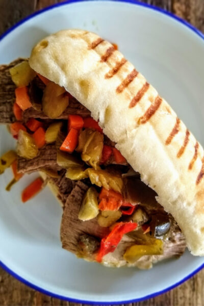 What's For Dinner: Italian Beef Sandwiches with Zen of Slow Cooking
