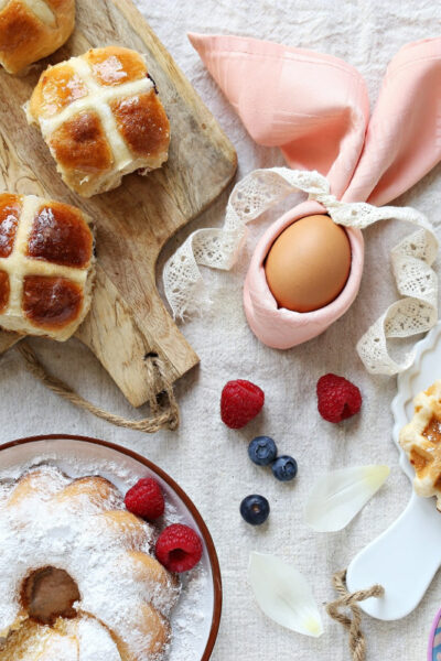 Family Easter Brunch Menu