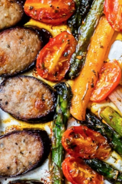 What's For Dinner: Sheet-Pan Sausage and Veggies