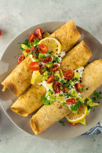 What's For Dinner: Baked Crispy Jackfruit Taquitos