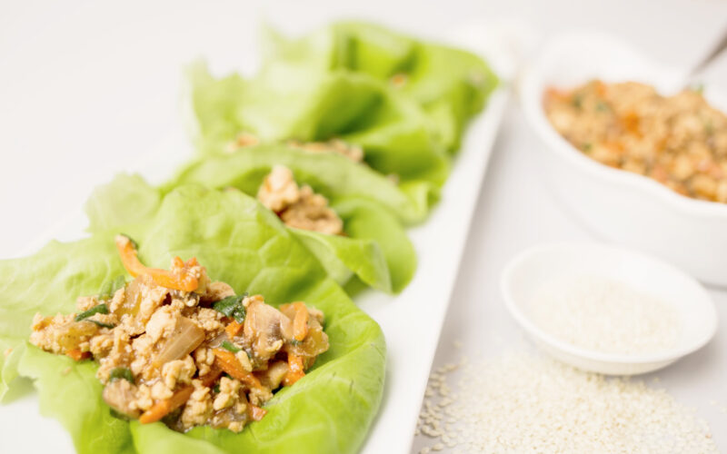 What's For Dinner: Healthy Chicken Lettuce Wraps