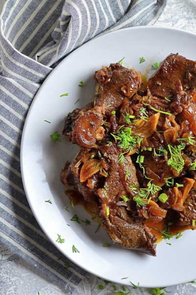 Slow Cooker Braised Beef