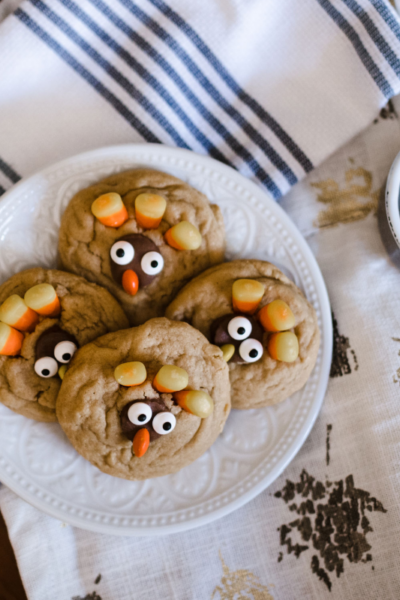 Peanut Butter Turkey Cookies