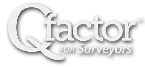 Qfactor for Surveyors