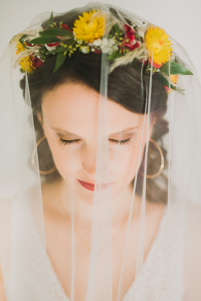 A bride portrait taken by a Spanish speaking photographer living in Austria