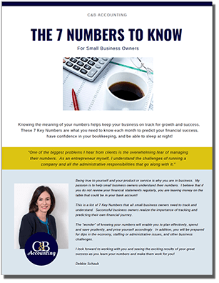 The 7 Numbers All Small Business Owners Should Know