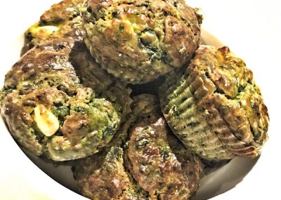 Spinach & Feta Muffins