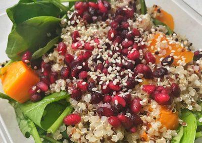 Pomegranate & Pumpkin Salad