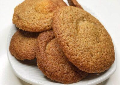 Buckwheat & White Chocolate Cookies
