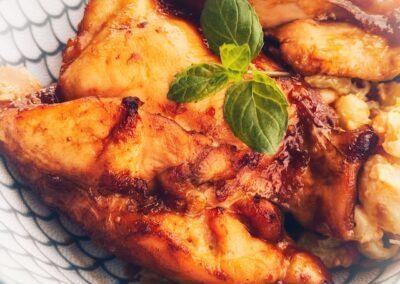 Huli Huli Hawaiian Chicken & Rice