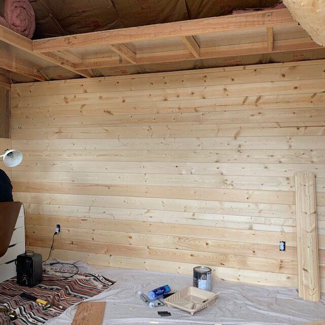 One Room Challenge Rustic Modern Office Space Week Three