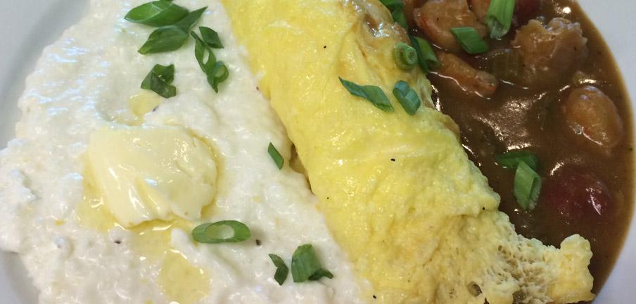 omlette-w-grits