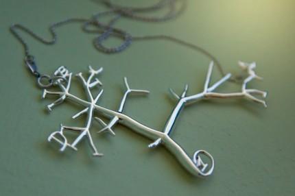 Darwin's Silver Cladogram Tree