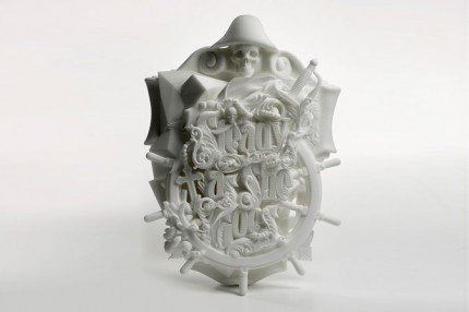 3D Printed Typographic Sculpture