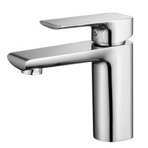Short Standard Bathroom Round Basin Mixer tap lever vanity Faucet WELS Watermark