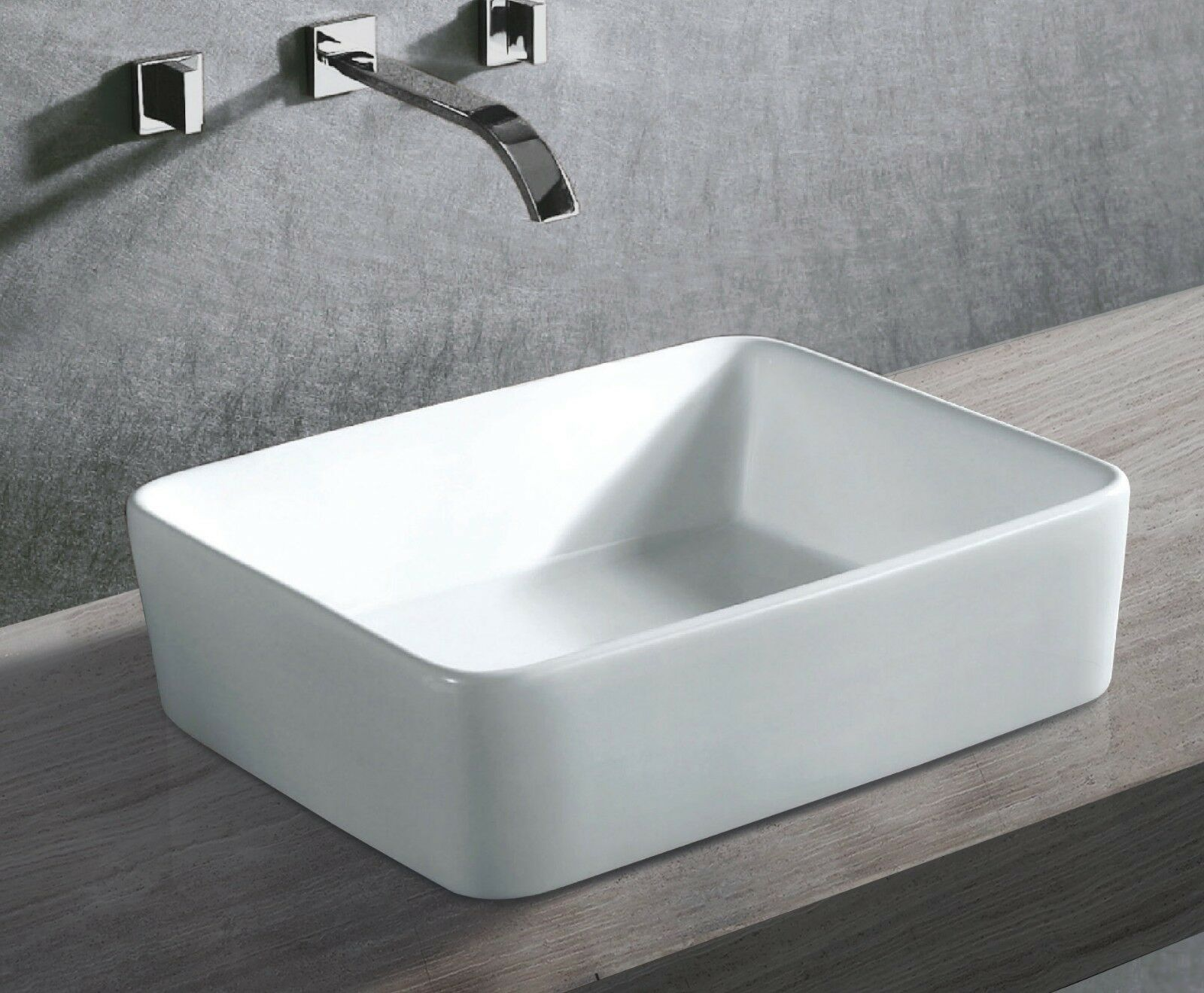 Ceramic Wash Basin Bathroom Sink Unit Bowl Above Counter Top Vanity AAA K303 - Rapid Building Products