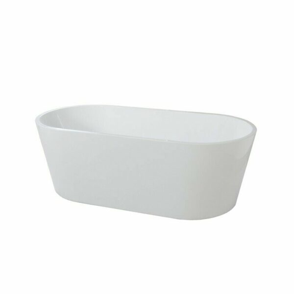"Bathroom Acrylic Free Standing Bath Tub ""Thin Edge"" 1700x800x580"
