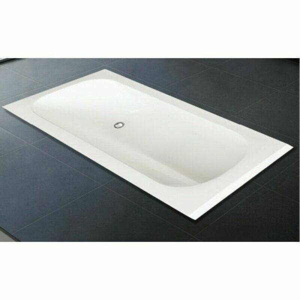 Round Bathroom Acrylic inbuilt Bath Tub VS140 Bath Tub 1400*700mm