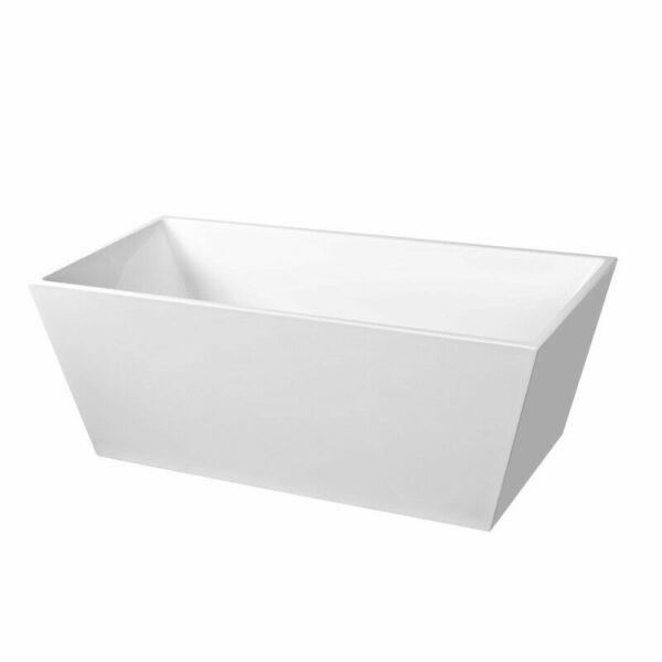 "Rectangle Bathroom Acrylic Free Standing Bath Tub ""Thin Edge"" 1700x800x580"