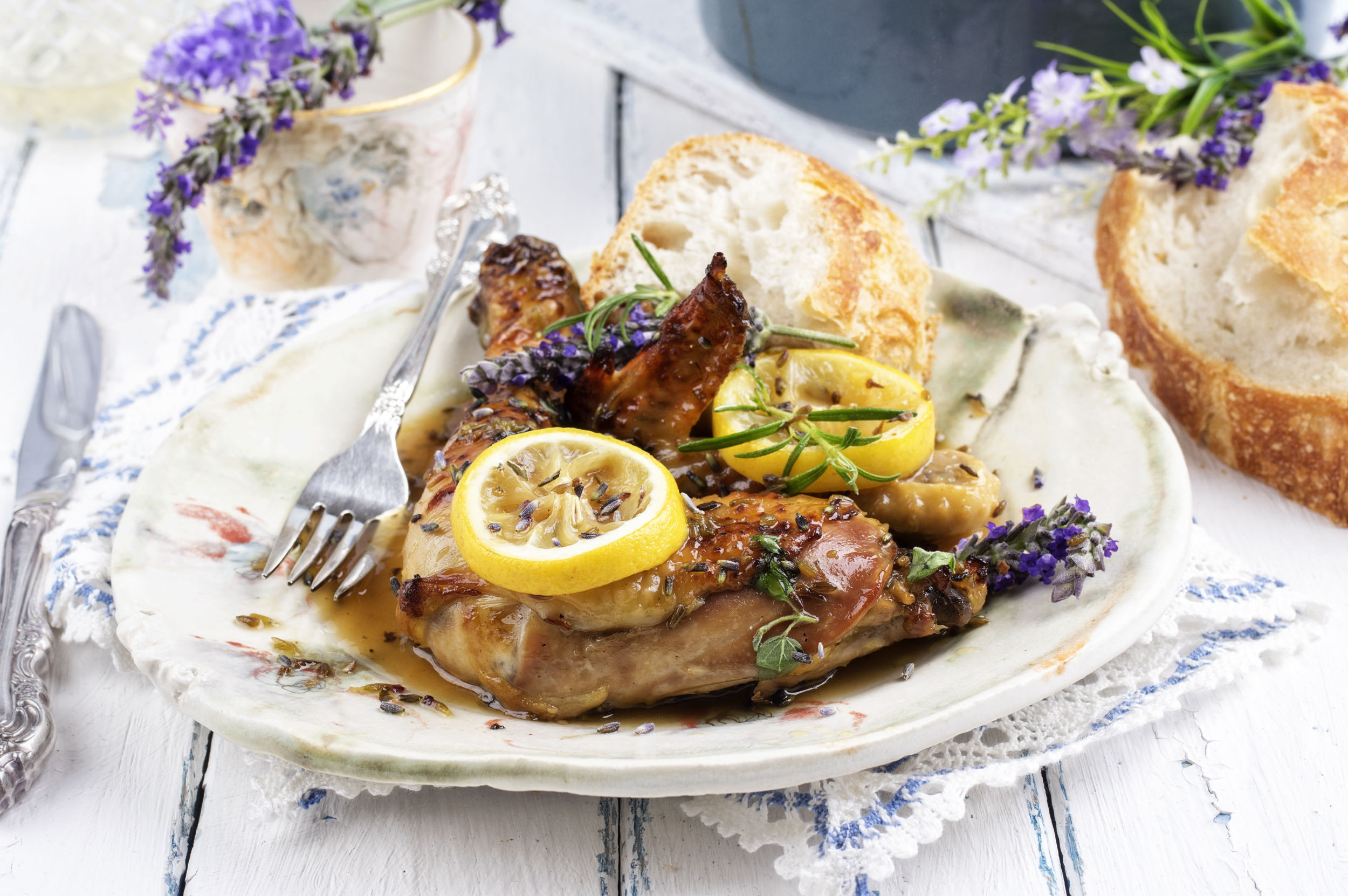Lemon & Lavender Chicken
