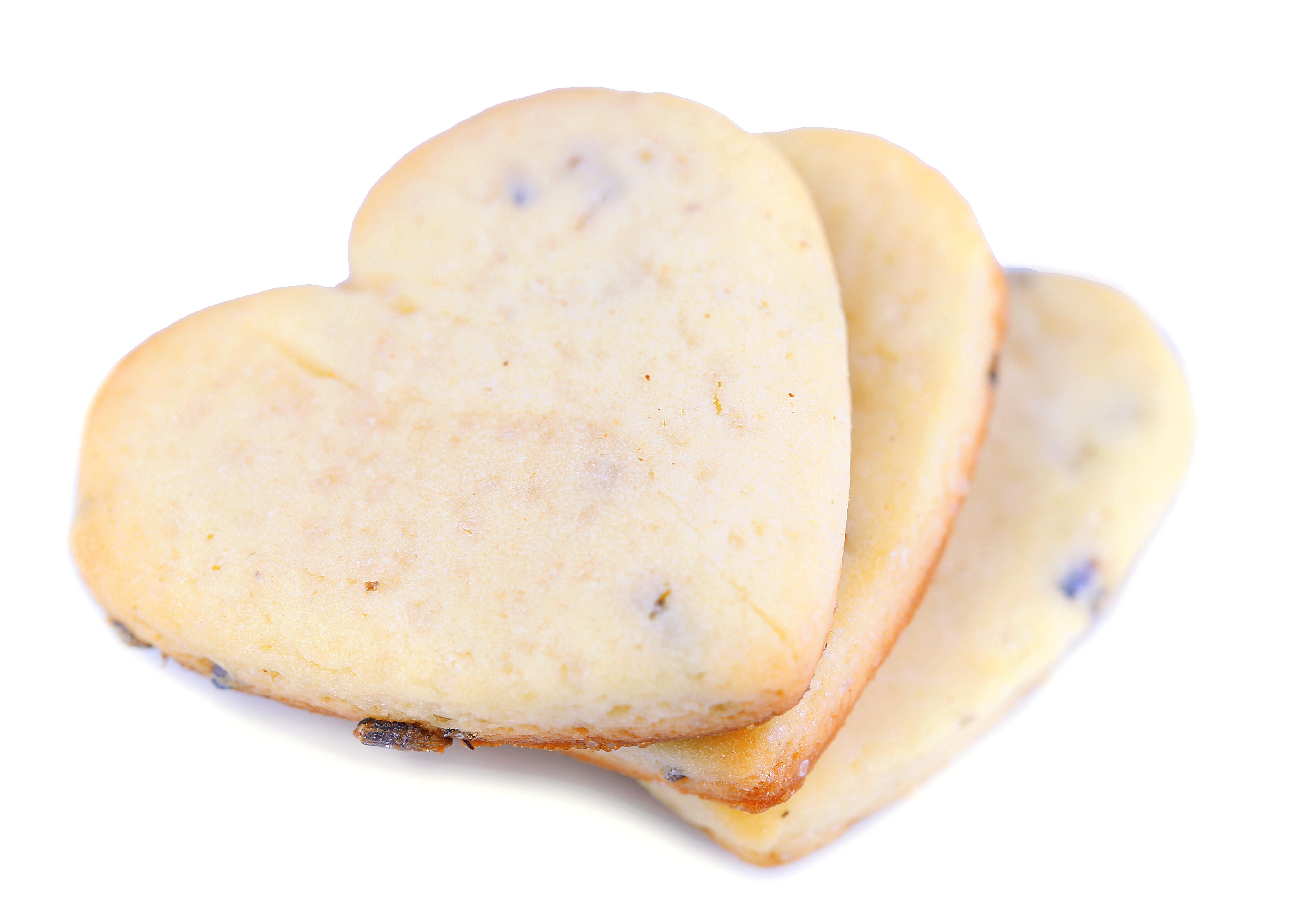 Honey & Lavender Shortbread Cookies