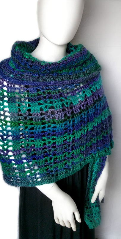 Prayer Shawl Crochet Pattern