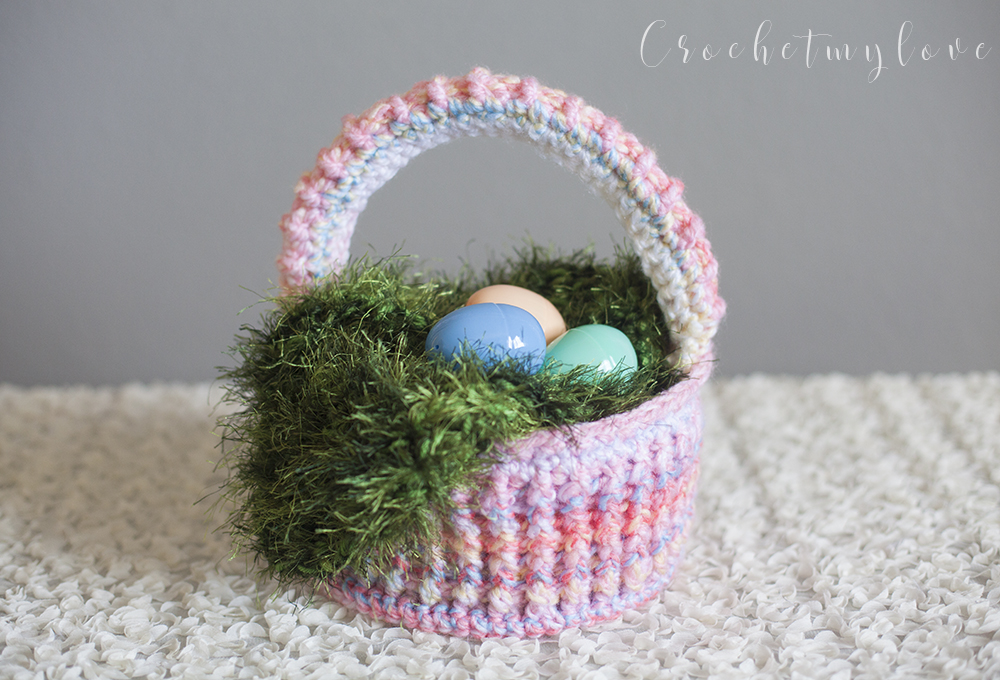 Easy Easter Basket Crochet Pattern