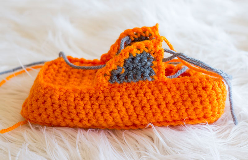 Crochet Slipper Tutorial Photo 18