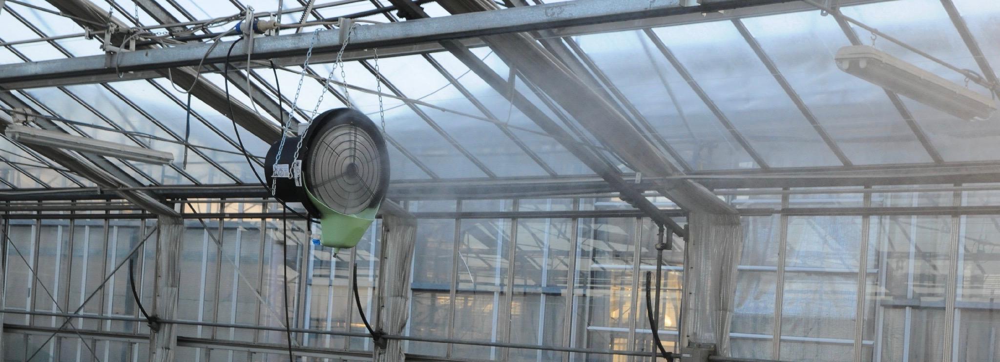 FS - fan propelled humidifier/cooler