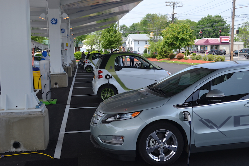 EVSE with EVs
