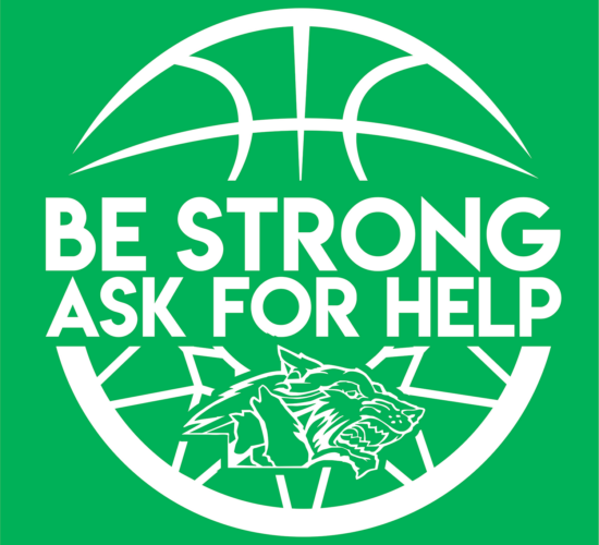 be strong, ask for help