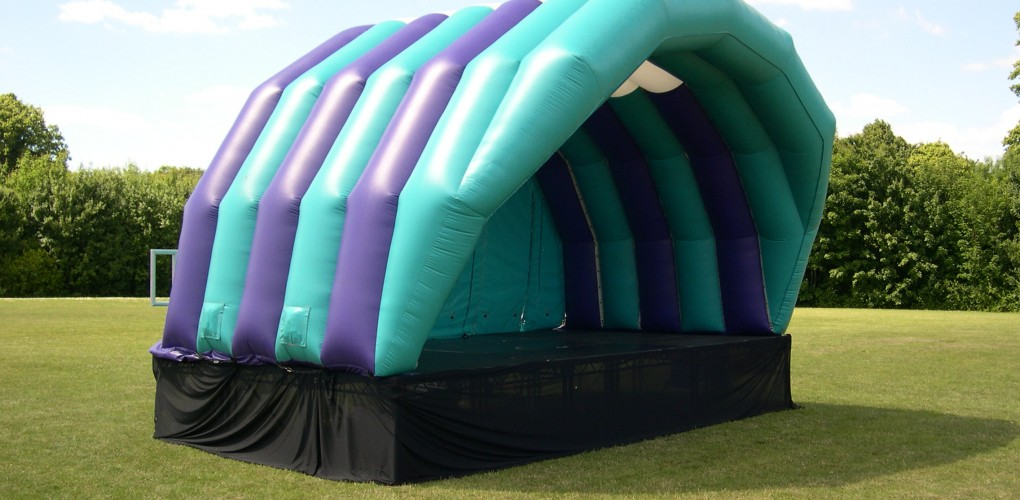6m x 4m Inflatable Stage