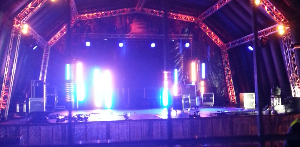 12m Inflatable Stage With Internal Truss