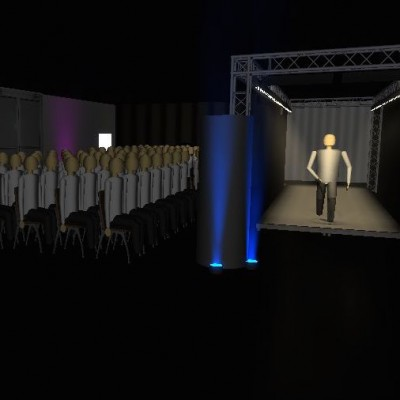 Catwalk Render