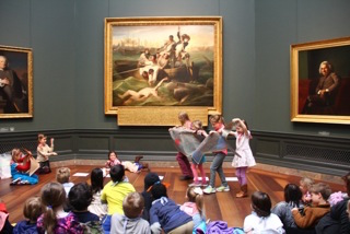 performing at the national gallery