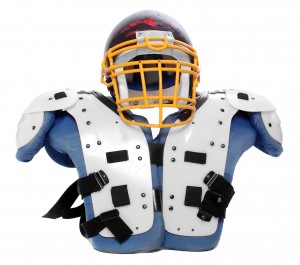 Training your body for impact is as important as equipment to prevent concussions.