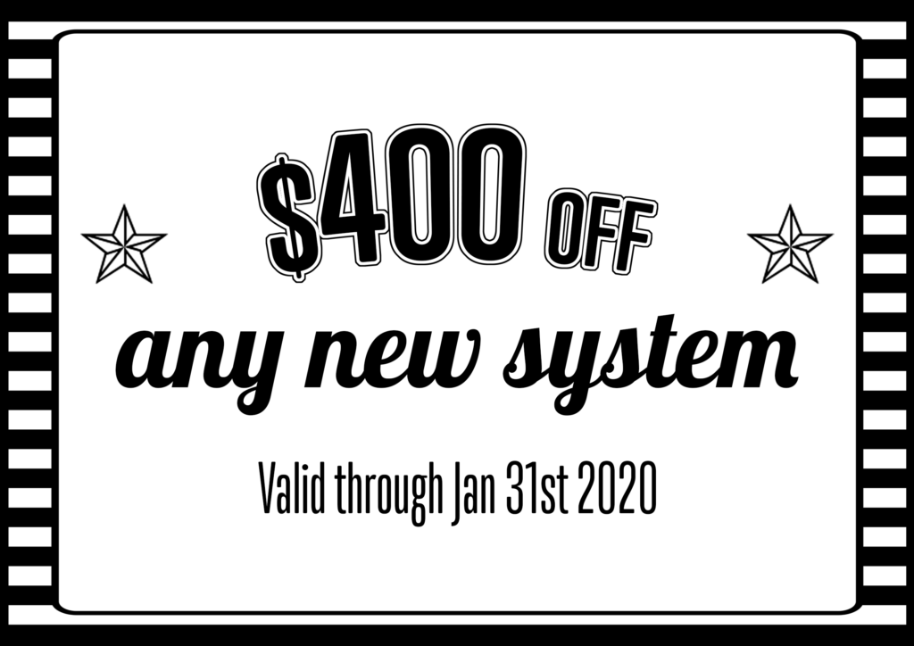 $400 off new AC system