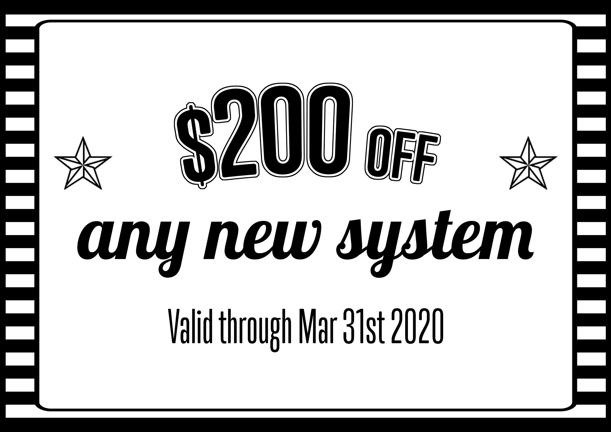 $200 off new AC system