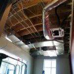 HVAC Contracting LG 4 way ceiling cassette