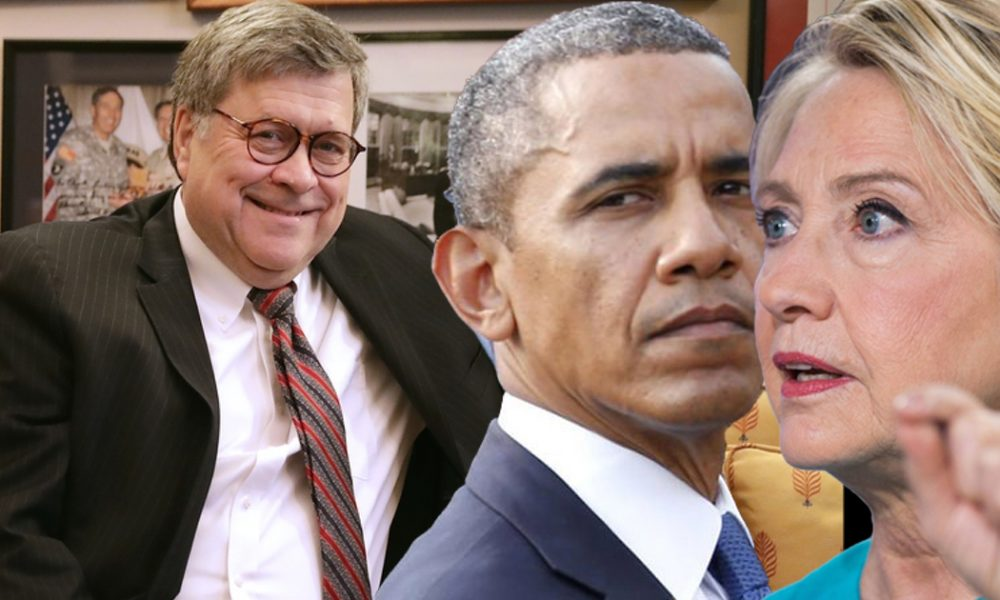Opinion| Barry & HRC Look Like They Are Going To Finally Get Dragged Into Barr & Durham's Investigation & Hopefully Indictments - The Beltway Report