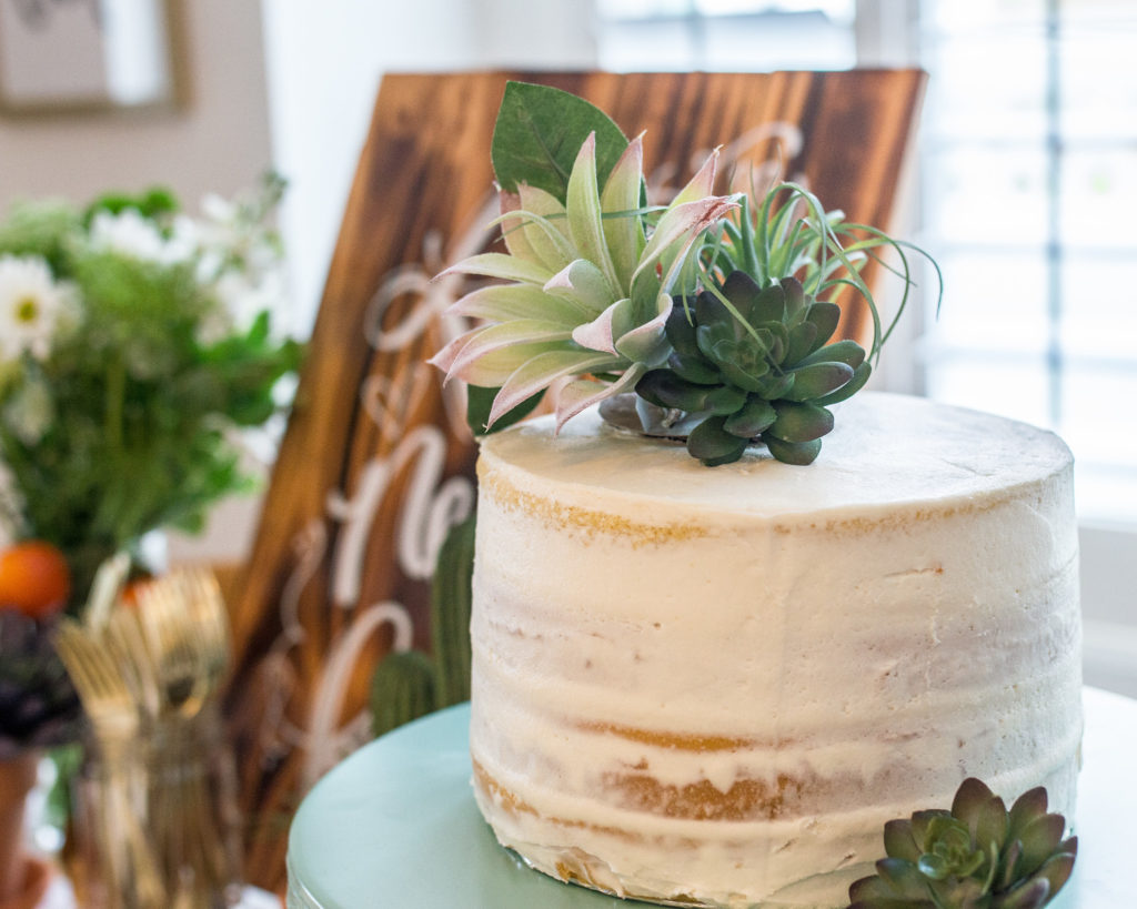 A Boho Inspired Cactus Succulents Themed Bridal Shower Luv Bec