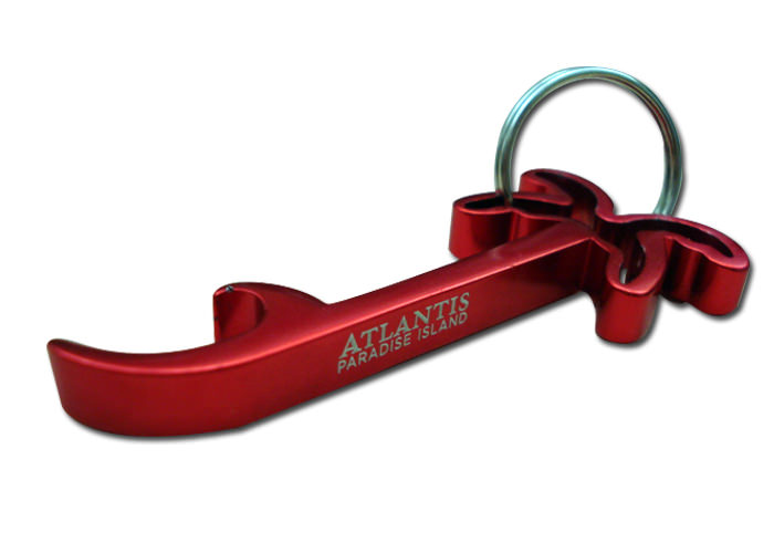 Atlantis Bottle Opener Key Chain