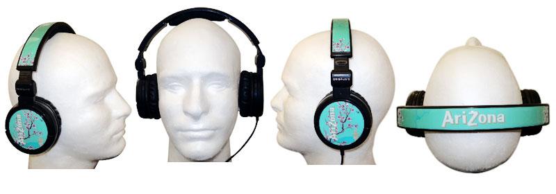 Tune in with these Custom Arizona Ice-Tea Headphones