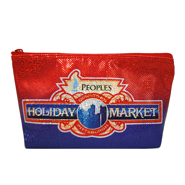 Fully Sublimated Custom Sequin Cosmetic Bags