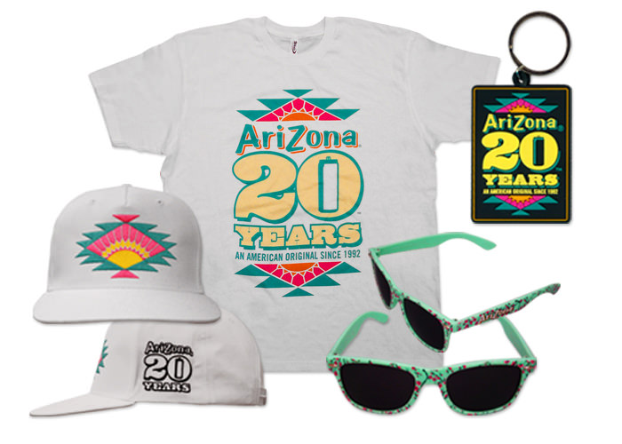 Arizona Iced Tea 20 Year Anniversary