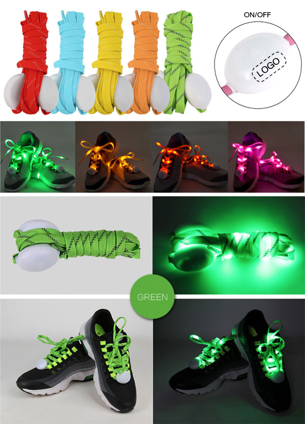 Flash Led Shoelaces Are All the Rave!